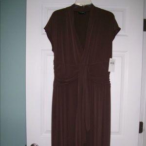 FALL SALE! Nice NWT chocolate dress